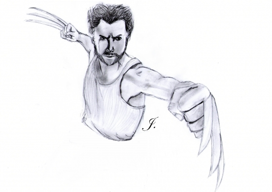 Hugh Jackman by Judy